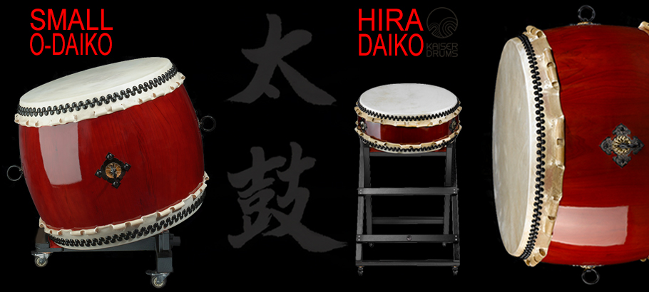 Hira-/O-Daiko drum collection