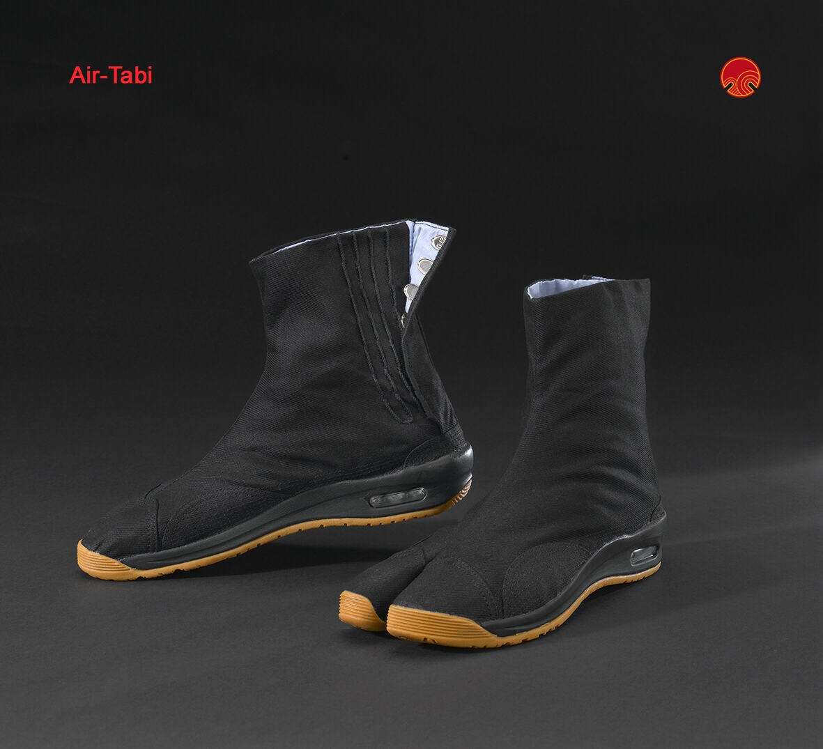 Japanese Matsuri Air Tabi-Shoes in black (55,00€)