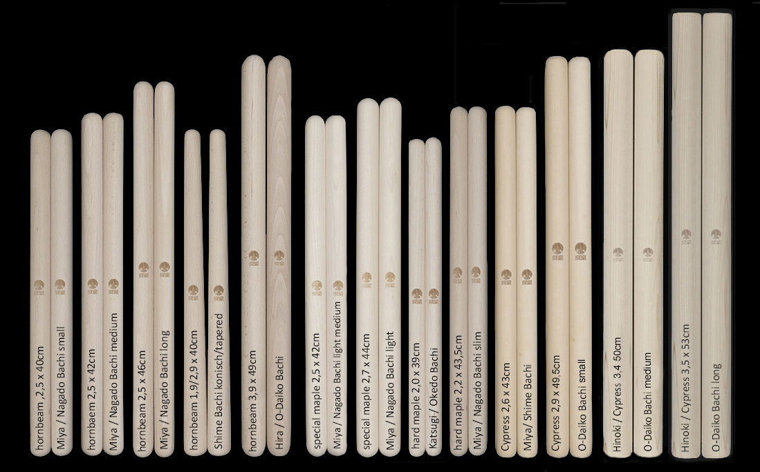 KAISER DRUMS  BACHI-drumsticks collection