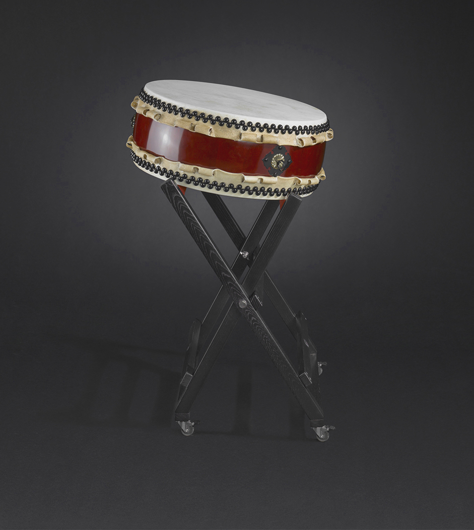 Hira-Daiko high-quality Ø48/h20cm with X-stand  (485€/185€)