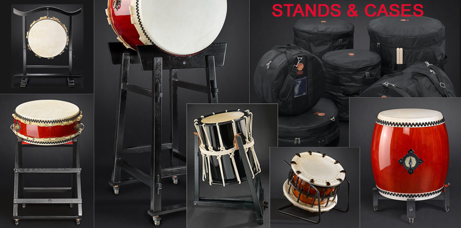 KAISER DRUMS stand & cases